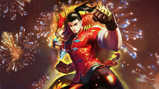 Download Script Skin Chou - Dragon Boy (Mobile Legend)