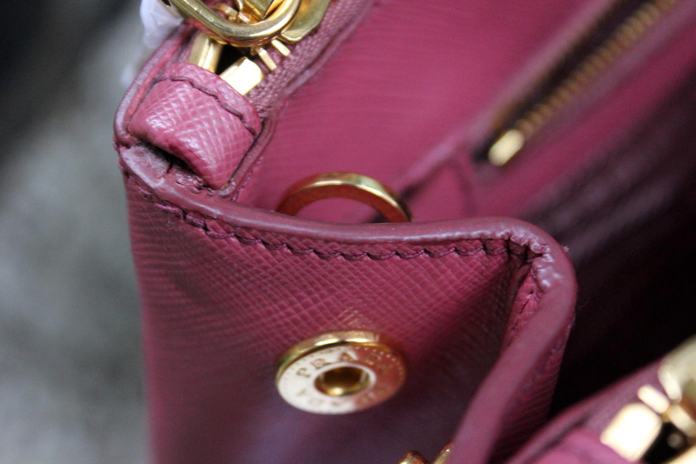 f2ec5ccc89a8b4 Verish Bags: Prada Saffiano BN1801 Pink Bruyere
