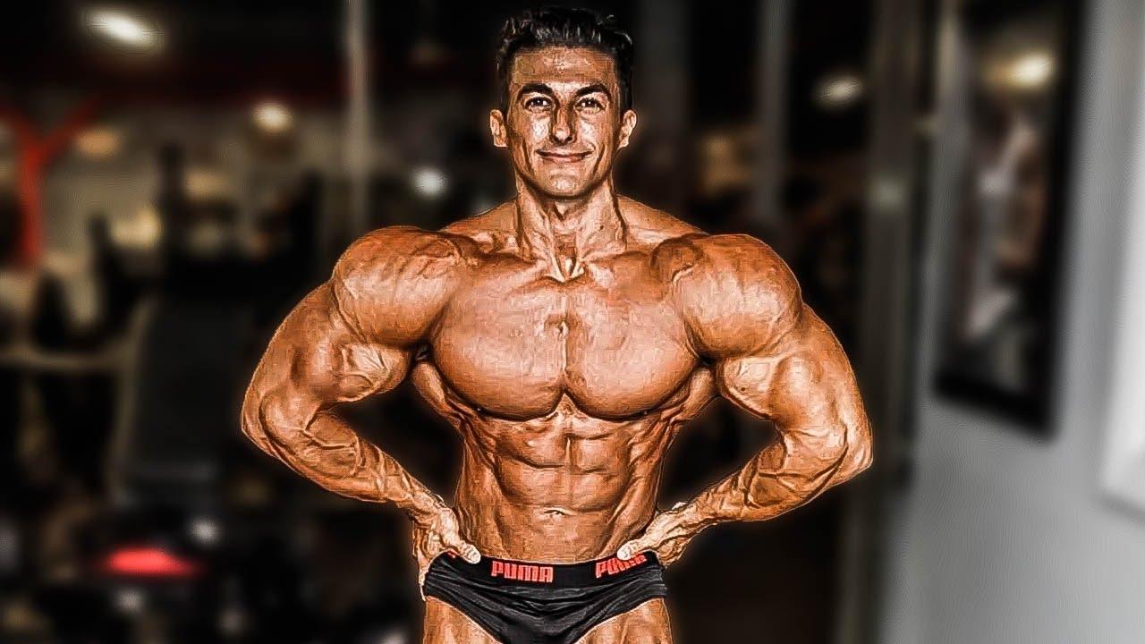 Sadik Hadzovic gym workout routine