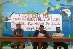 Tarik Militer dari Maybrat dan Seluruh Wilayah West Papua