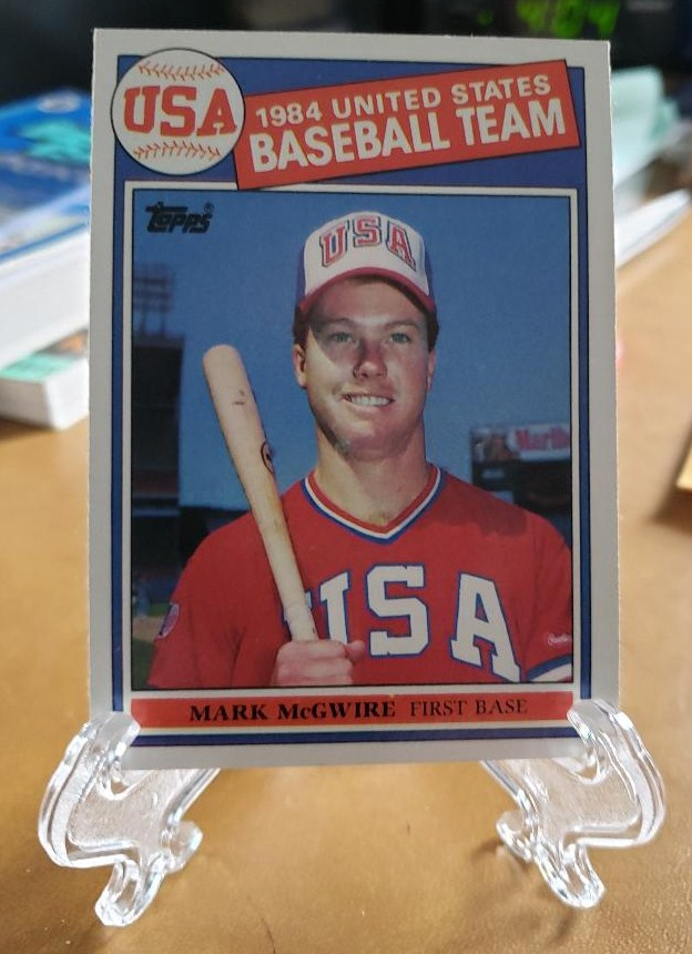 Reprint Rookie Cards In Display Cases Al Kaline Ernie Banks Sandy Koufax Roberto Clemente