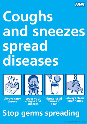 Coughs and sneezes, spread diseases