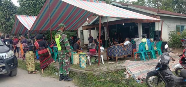 Lewat Gakplin, Personel Jajaran Kodim 0207/Simalungun Awasi Warga Binaannya Ditempat Keramaian
