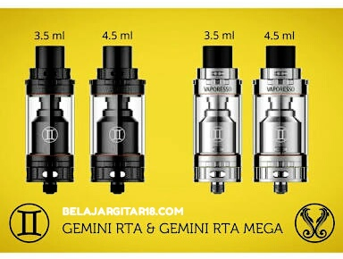 Gemini RTA 22mm by Vaporesso