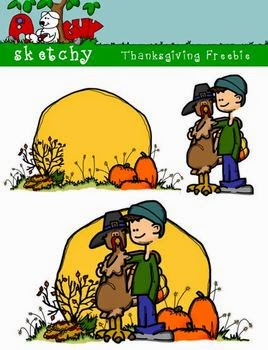 Free Thanksgiving/Fall Clipart