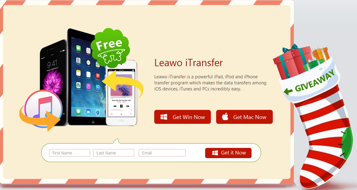 Leawo Software Gives Away iTransfer as Free 2016 Christmas Gifts ...