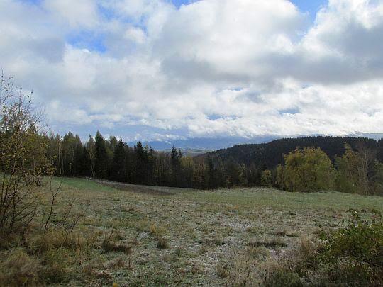 Polana należąca do wsi Młyńczyska.