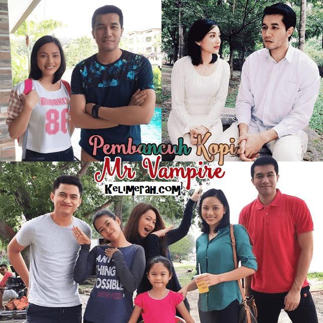 Drama Pembancuh Kopi Mr Vampire Adapatasi Novel Lakoan Ungku Ismail Aziz, Nazeera Sardi,