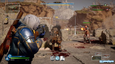 Gameplay from Outriders Pyromancer.