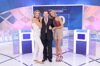 Luana, Silvio e Renata (Crédito: Lourival Ribeiro/SBT)
