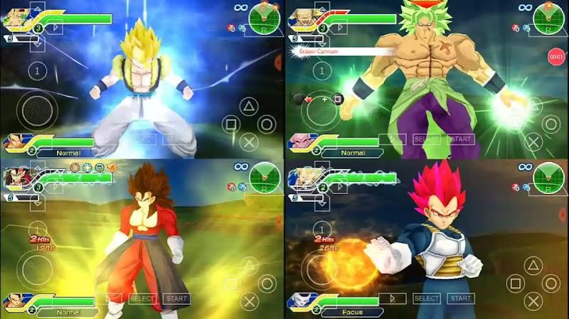 Dragon Ball Z Tenkaichi Tag Team Mod Latino PSP ISO Download