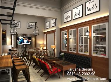 Biaya Desain Cafe 3 Lantai Lengkap Paket Murah