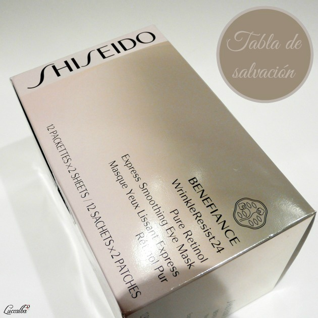 Beneficiance WrinkleResist24 Pure Retinol Express Smoothing Eye Mask de Shiseido