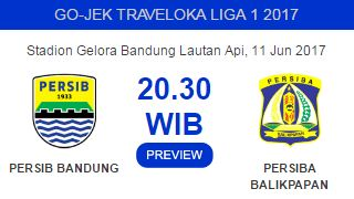 Persib Bandung vs Persiba Balikpapan Tanpa Jupe, Febri, dan Zola