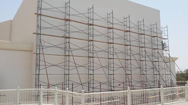 Scaffolding Untuk Kontruksi Bangunan