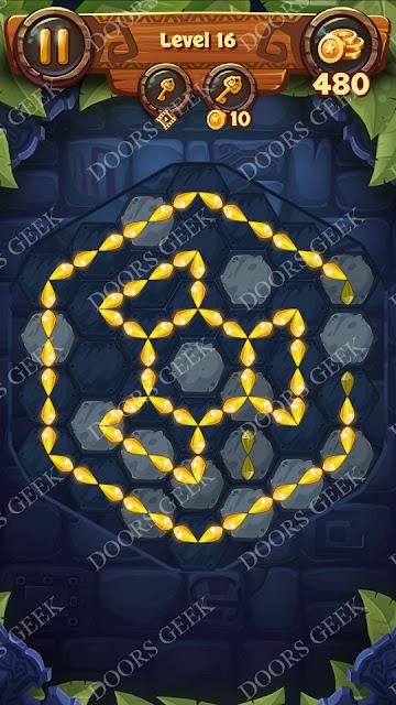 Gems & Magic [Aquamarine] Level 16 Solution, Walkthrough, Cheats