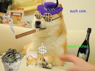 Dogecoin lottery
