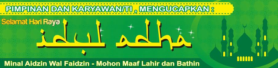 Desain Spanduk Hari Raya Idul Adha cdr