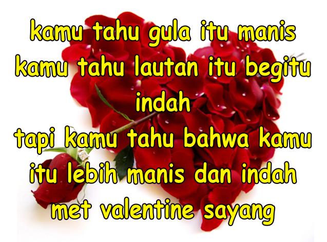 Wallpaper Ucapan Hari Valentine Untuk Pacar Foto Gambar