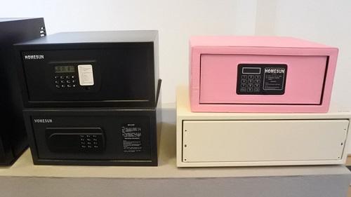 Bảng báo giá két sắt mini trong khách sạn - Homesun