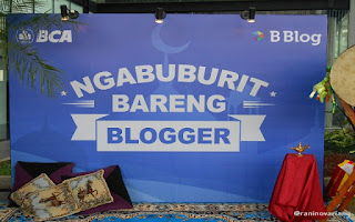 Ngabuburit bareng blogger