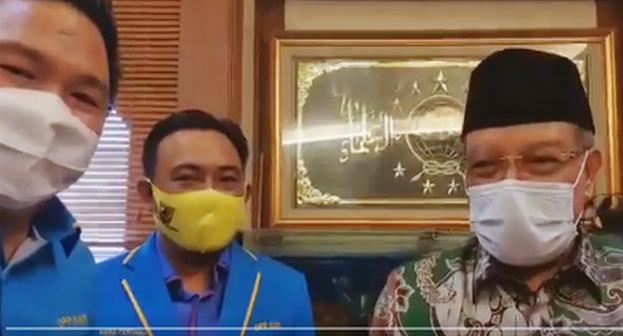 Pelapor Abu Janda Sowan ke PBNU, Said Aqil Bilang Begini