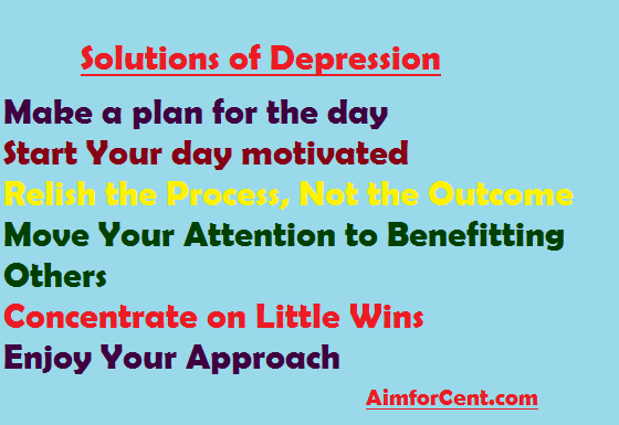 Solutions od Depression , Why I Have No Motivation to Do Anything: Solutio