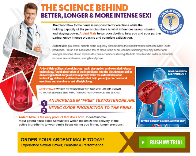 Ardent Male Enhance Pills - PromoSimple Giveaways Directory