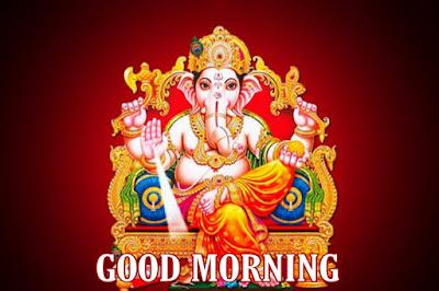 good morning images of god ganesh