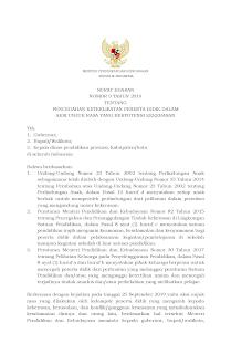 Surat Edaran Nomor 9 Tahun 2019