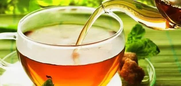 فوائد الشاي الأخضر بالنعناع وأضراره