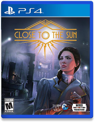 Close To The Sun Game Cover Ps4