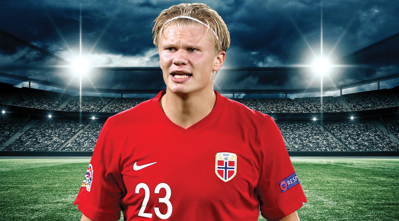 Norwegian goal-scoring sensation Erling Haaland