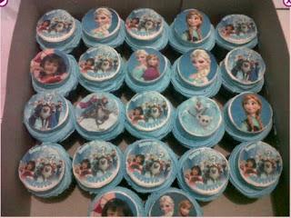 Foto Kue Ulang Tahun Cup Cake Lucu Untuk Anak