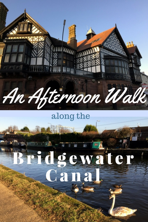 An Afternoon Walk along the Bridgewater Canal