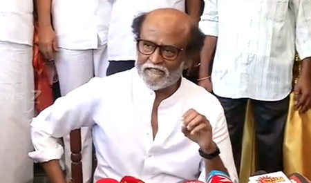 After appointing district administrators, I will announce the launch of the party: Rajinikanth