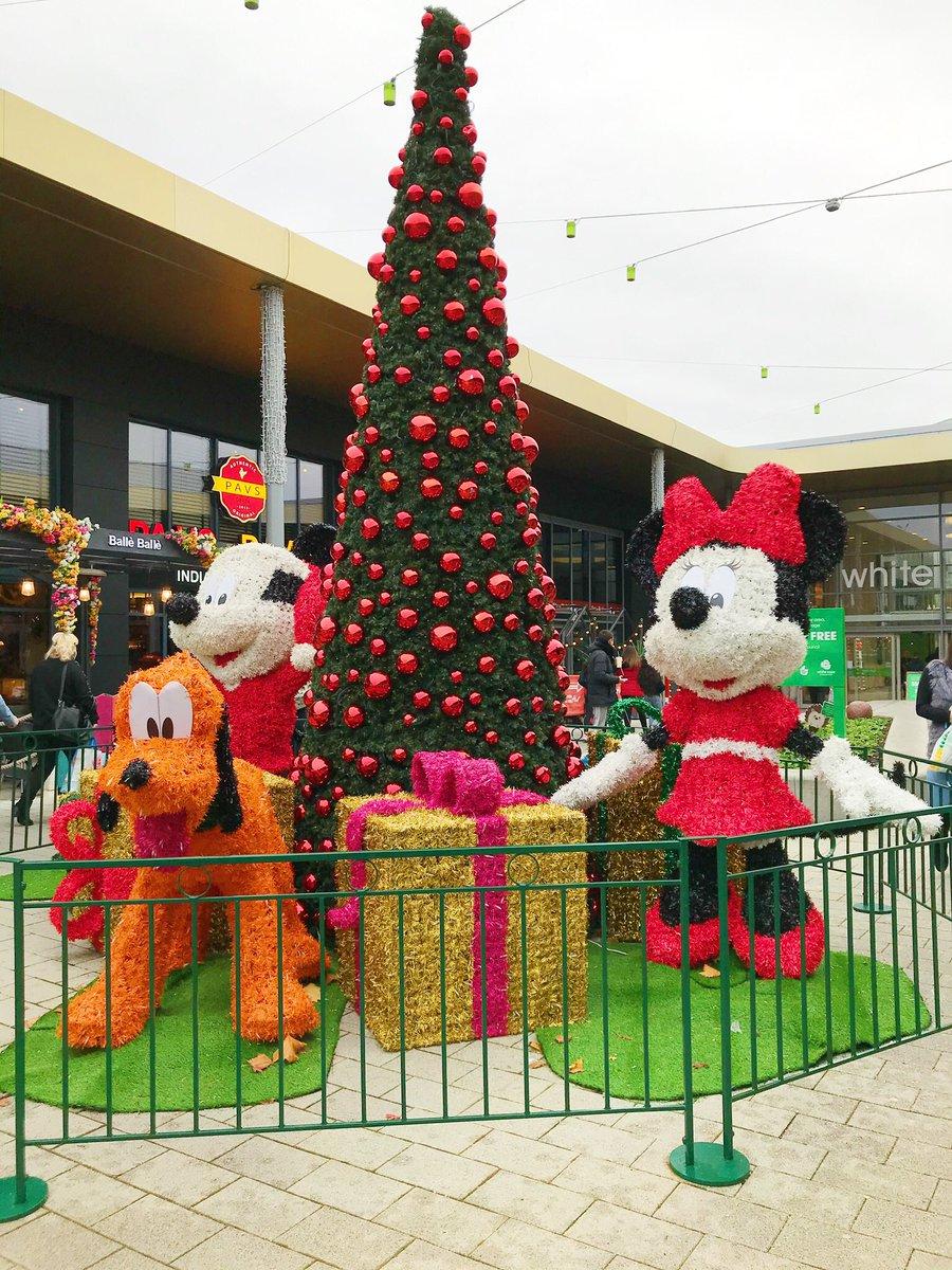Christmas display, White Rose Leeds