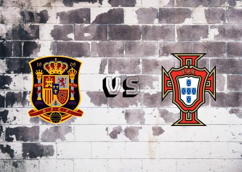 España vs Portugal  Resumen y Partido Completo