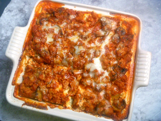 Essential Lasagna: Nothing spells comfort more than layers of steaming tender pasta filled with gooey meat and cheese, topped with a robust sauce that is bursting with flavor.  - Slice of Southern