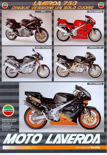 Zanè Laverda 750 Brochure
