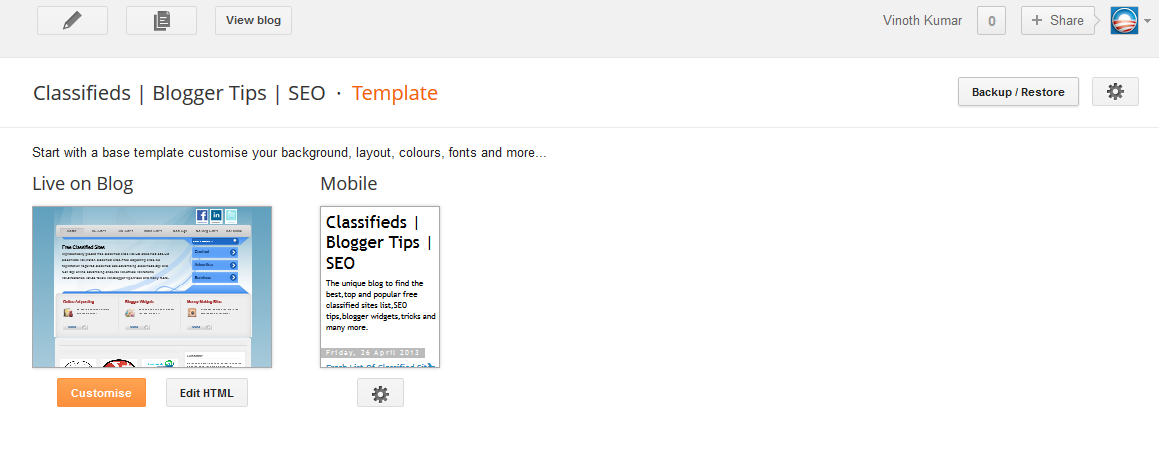 How To Upload Install A Blogger Template Btemplates