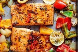 Sheet Pan Chili Lime Salmon