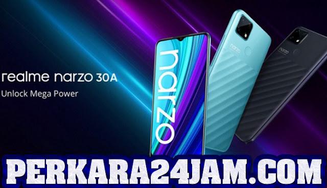 Realme Narzo 30A Ponsel Gaming Dengan Baterai 6.000 mAh