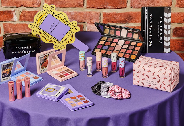 Makeup Revolution x Friends Collection
