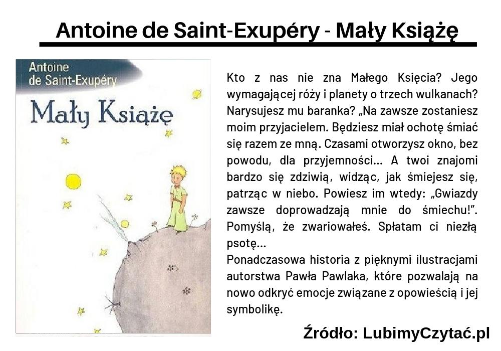 Antoine de Saint-Exupéry - Mały Książę, Topki, Marzenie Literackie
