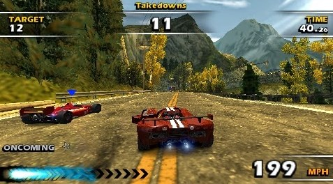 Game PPSSPP Balapan Burnout Dominator Android