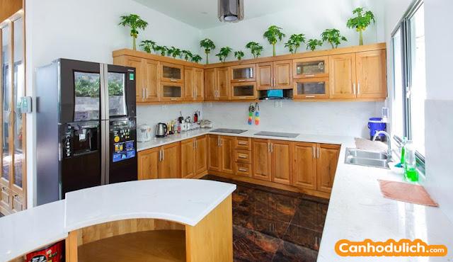 Không gian nấu ăn là điểm cộng lớn nhất so với các phòng khách sạn