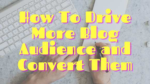 How To Drive More Blog Audience and Convert Them