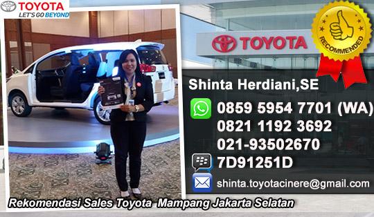 Rekomendasi Sales Toyota Mampang Jakarta Selatan