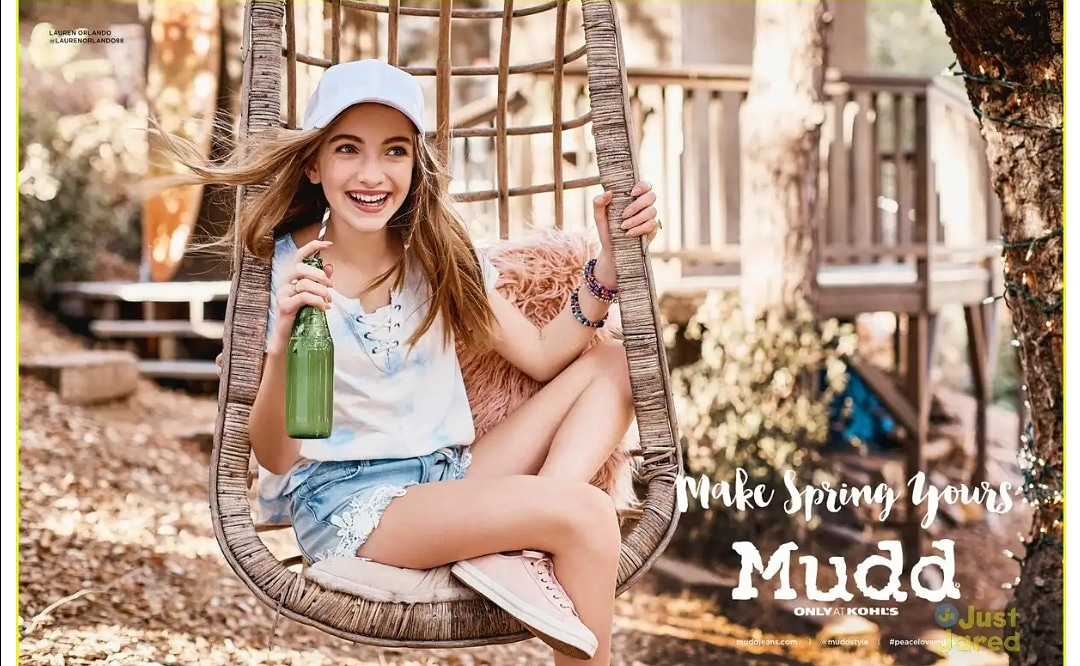 f22c3dc7f7 Lauren Orlando Joins LaurDIY   More in MuddStyle s New Spring 2018 Fashion  Campaign Cre  Just Jared Jr P S  may be when u guys see these pics